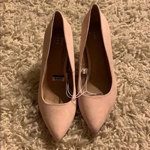Women's Shades of Nude Pointed Toe Pumps -